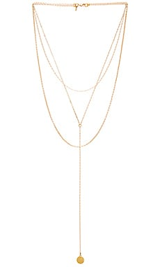 x REVOLVE 3 Layered Necklace in Gold