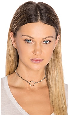 Vanessa Mooney Bonet Choker in Silver