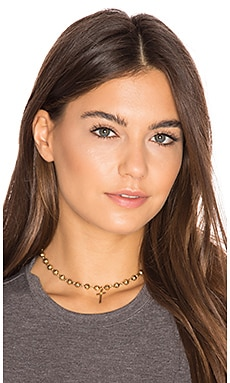 Celeste Choker in Gold