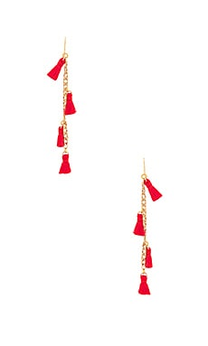 X REVOLVE Tassel Earrings