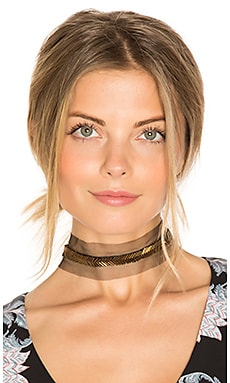 Jean Choker in Brass
