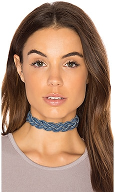 Maureen Choker in Denim