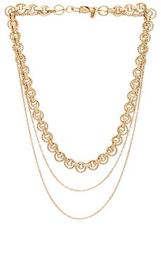 Flora Necklace in Gold