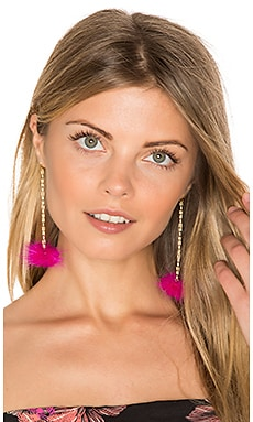 Decades Pom Pom Earrings