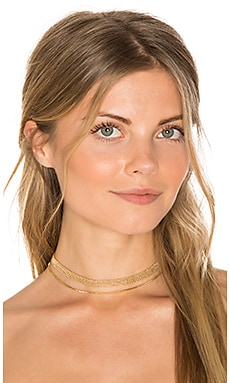 Hitchhiker Choker in Gold