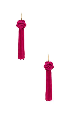 The Astrid Knotted Tassel Earring