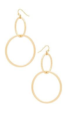 Promo Code Vanessa Mooney The Interlocking Hoop Earrings