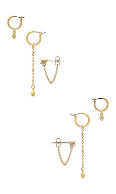 ENSEMBLE DE BOUCLES D'OREILLES KODY Vanessa Mooney $75