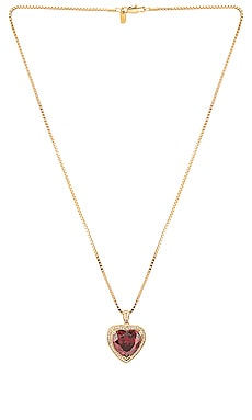 COLLIER RUBY HEART Vanessa Mooney $86 BEST SELLER