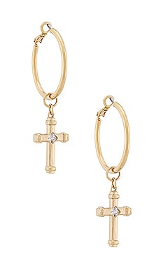 PENDIENTES THE THRONE Vanessa Mooney $95