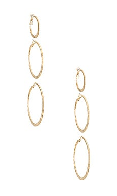 The Dolly Earring Set Vanessa Mooney $46