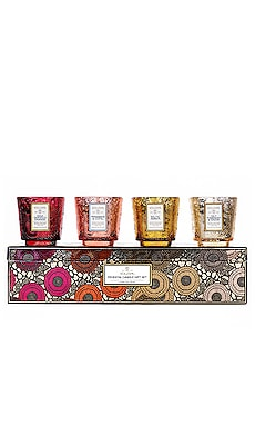 Pedestal Warm Tones Gift Set Voluspa $50 BEST SELLER