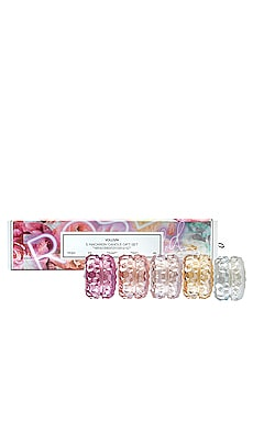 SET VELAS REGALO ROSES Voluspa $75