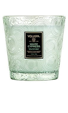 Boxed 2 Wick Glass Candle Voluspa $40 BEST SELLER