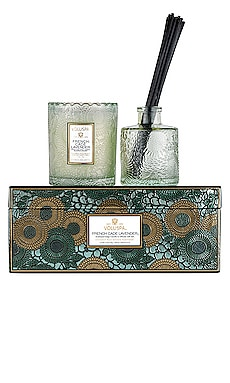 Scalloped Edge Candle & Diffuser Gift Set Voluspa $48
