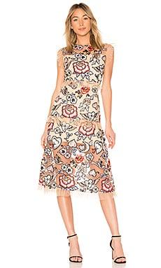 Купить Платье margot - VONE, Кружево, Индонезия, Цвет загара