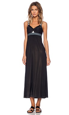 VPL Convexity Breaker Maxi Dress in Black