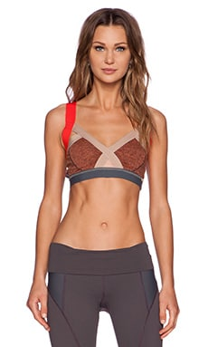VPL Insertion Bra in Salmon Marl