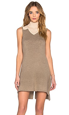 Vintageous The Willow Dress in Hazel & French Beige