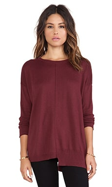 Vintageous Legacy Pullover in Burgundy