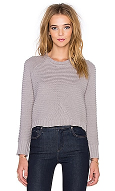 Vintageous Vivid Crop Sweater in Husky