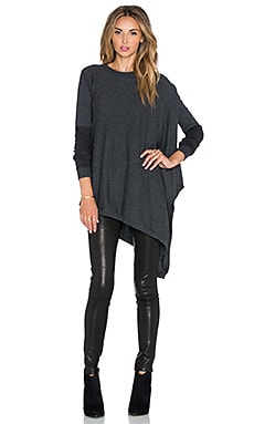 Vintageous Once Again Sweater in Eclipse & Black