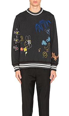 Плюшевый свитер с вышивкой children - Vivienne Westwood Man