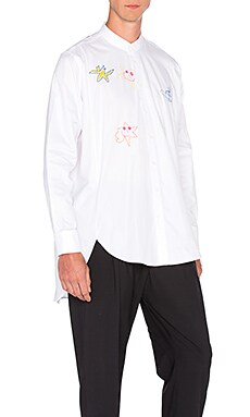 Vivienne Westwood Man Circle Shirt in White