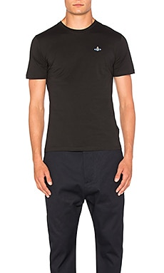 Vivienne Westwood Man Basic T Shirt in Black