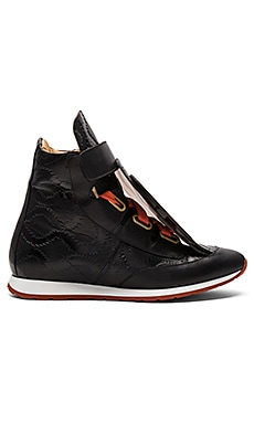 Vivienne Westwood 3 Tongue Trainer in Black