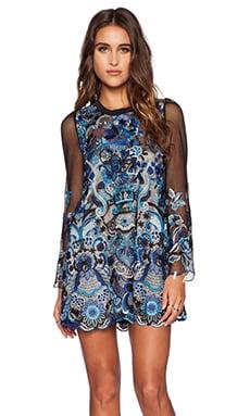 The Allflower Lagoon Dress in Multi
