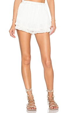 The Wallflower Opulent Short in White