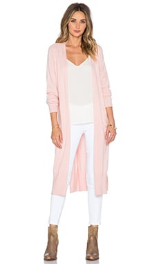 The Allflower Creative ellow Knit Cardigan in Candy
