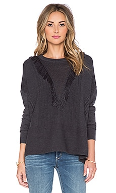 The Allflower Creative Blissful Sweater in Charcoal