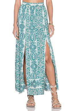 The Wallflower Launch Skirt in Paisley Print