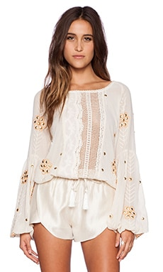 The Wallflower Journey Top in Cream