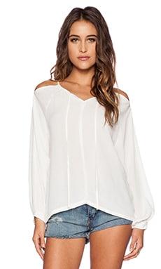 The Allflower Nora Top in White