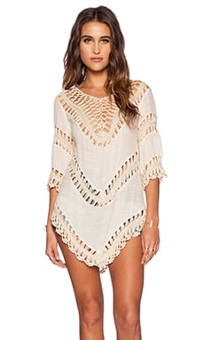 The Wallflower Luna Tunic in Cream