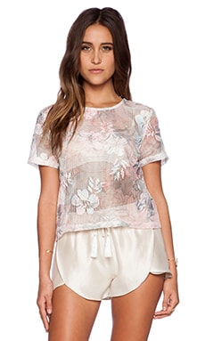 The Wallflower Skipping Top in Pastel Print