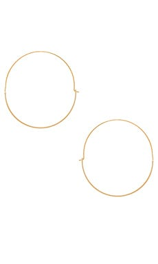 Full Circle Hoop Earring