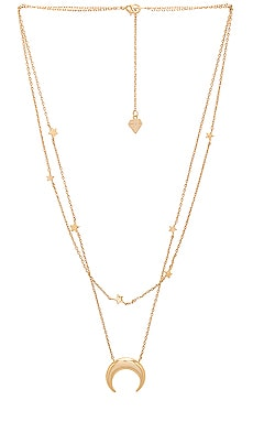 Crescent & Constellation Necklace Wanderlust + Co $50 BEST SELLER