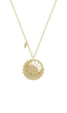 Купить Золотой, Ожерелье dawning of a new day - Wanderlust + Co, Китай, Металлический золотой, Женский