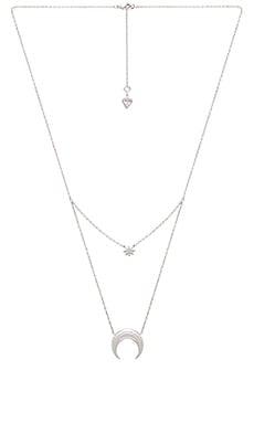 Купить Серебряный, Ожерелье - Wanderlust + Co, Китай, Металлический серебряный, Женский