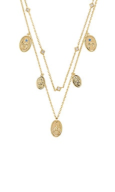 Reverie Charms Necklace Wanderlust + Co $61