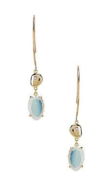 Seek for Light Earrings Wanderlust + Co $65