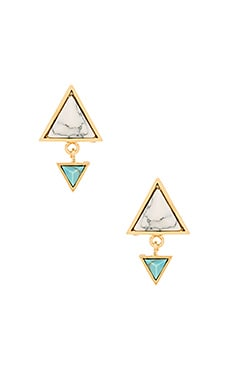 Wanderlust + Co Dusk To Dawn Earring in Gold