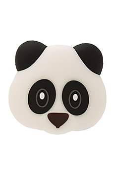 Panda Panda Panda Power Bank in White