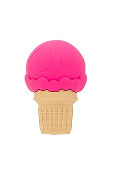 Nice Cream Cone Power Bank in Pink
