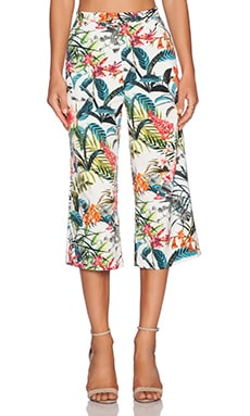 WAYF Culottes in Tropical Print