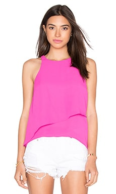 Overlay Tank in Fuschia